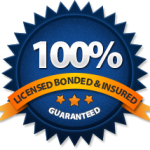 Licensed, Bonded and Insured